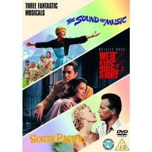 The Sound of Music / West Side Story / South Pacific [DVD]