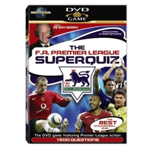 Interactive FA Premier League SuperQuiz [Interactive DVD]