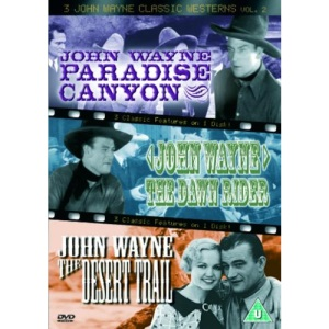 3 John Wayne Classics - Vol. 2 - Paradise Canyon / The Dawn Rider / The Desert Trail [DVD]