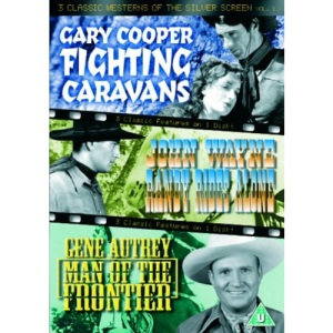 3 Classic Westerns Of The Silver Screen - Vol. 1 - Fighting Caravans / Randy Rides Alone / Man Of The Frontier [DVD]