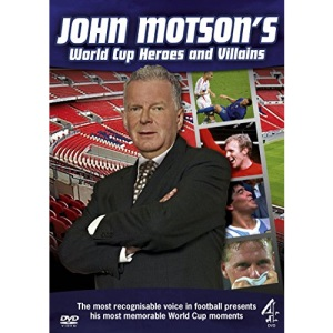 John Motson's World Cup Heroes And Villains [DVD]