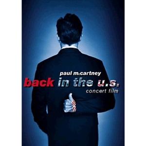 Paul Mccartney: Back In The Us [DVD]