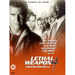 Lethal Weapon 4 [DVD] [1998]