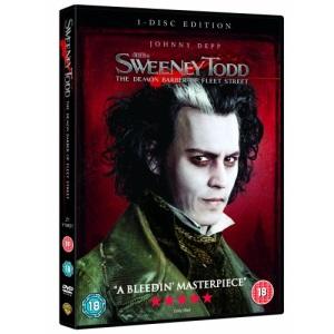 Sweeney Todd - The Demon Barber Of Fleet Street [DVD] [2007]