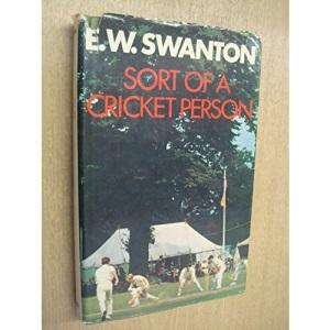 Sort of a Cricket Person