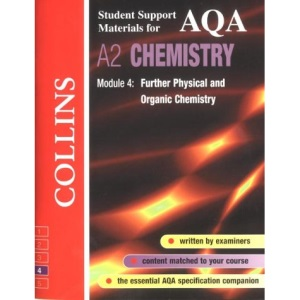 Collins Student Support Materials - AQA Chemistry: Further Physical and Organic Chemistry