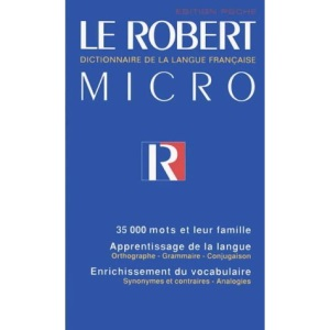 Le Robert Micro (Dictionary)