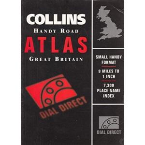 Collins Handy Road Atlas Britain 1997