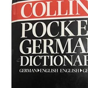 Collins German Pocket Dictionary: German-English, English-German