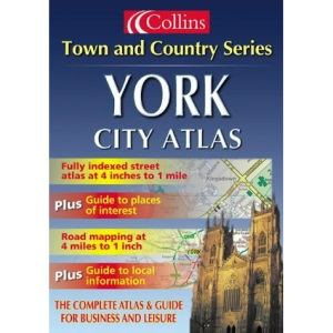 York City Atlas (Town and Country) (Town & Country Street Atlas S.)