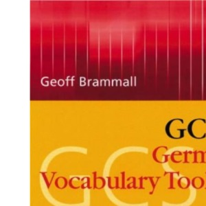 GCSE German Vocabulary Learning Toolkit (Gcse Vocabulary Toolkits)
