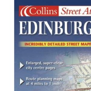 Edinburgh Colour Street Atlas (Collins street atlas)