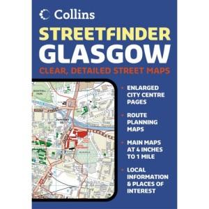 Glasgow Streetfinder Colour Atlas