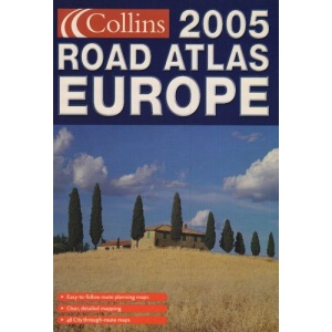 2005 Collins Road Atlas Europe: Small Format