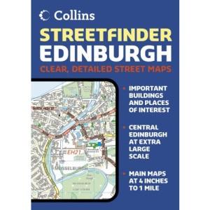 Edinburgh Streetfinder Colour Atlas
