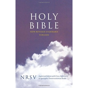 Holy Bible: New Revised Standard Version (NRSV) Anglicised Cross-Reference edition with Apocrypha (Bible Nrsv)