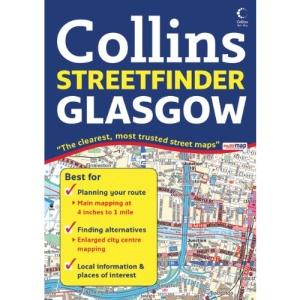 Glasgow Streetfinder Colour Atlas (Collins Streetfinder)