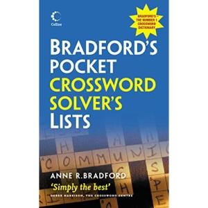 Collins Bradford's Pocket Crossword Solver's Lists (Dictionary)