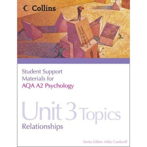 Student Support Materials for Psychology - AQA A2 Psychology Unit 3: Topics in Psychology: Relationships