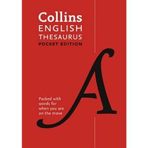 English Pocket Thesaurus: The perfect portable thesaurus (Collins Pocket Dictionaries)