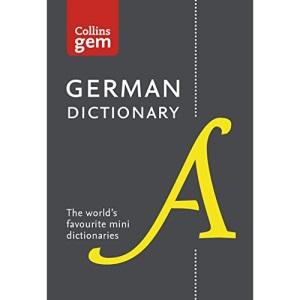 German Gem Dictionary: The world's favourite mini dictionaries (Collins Gem Dictionaries)