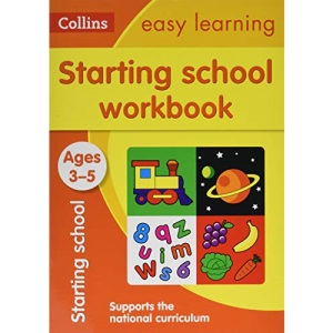 Starting School Workbook Ages 3-5: Ideal for home learning (Collins Easy Learning Preschool)