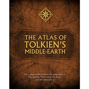 The Atlas of Tolkien's Middle-earth: by J.R.R. Tolkien, Karen Wynn Fonstad and Christopher Tolkien