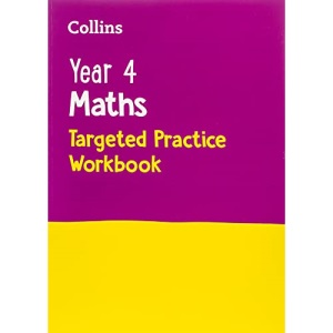 Year 4 Maths Targeted Practice Workbook: Ideal for use at home (Collins KS2 Practice)