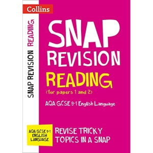 AQA GCSE 9-1 English Language Reading (Papers 1 & 2) Revision Guide: Ideal for home learning, 2022 and 2023 exams (Collins GCSE Grade 9-1 SNAP Revision)