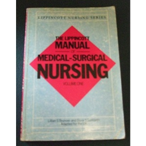 Lippincott Manual of Medical-surgical Nursing: v. 1 (Lippincott nursing series)