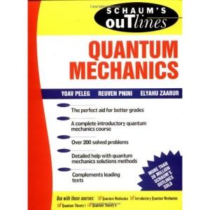 Schaum's Outline of Quantum Mechanics (Schaum's Outline Series)