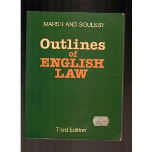 Outlines of English Law