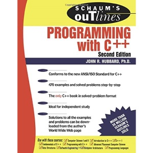 Schaum's Outline of Programming with C++ (Schaum's Outline Series)
