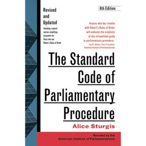 The Standard Code of Parliamentary Procedure, 4th Edition