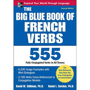 The Big Blue Book of French Verbs, Second Edition (NTC FOREIGN LANGUAGE)