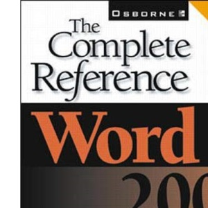 Word 2002: the Complete Reference