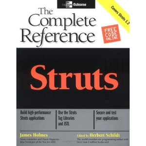 Struts: The Complete Reference (Osborne Oracle Press Series)