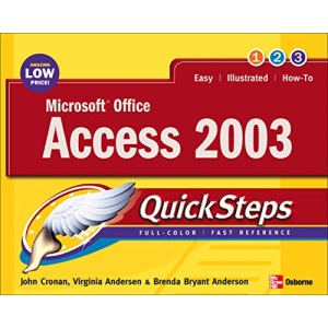 Microsoft Office Access 2003 QuickSteps