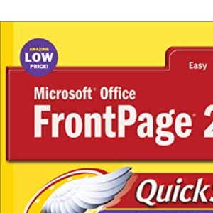 Microsoft Office FrontPage 2003 QuickSteps