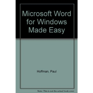 Microsoft Word for Windows Made Easy