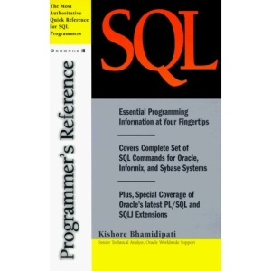 SQL Programmer's Reference (The McGraw-Hill programmer's reference series)
