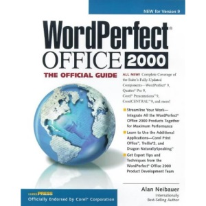 Corel WordPerfect Suite 9: The Official Guide