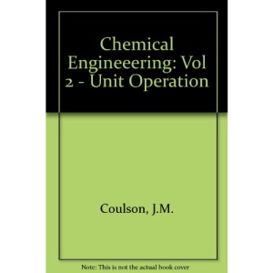 Chemical Engineeering: Vol 2 - Unit Operation
