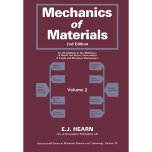 002: Mechanics of Materials, Volume 2: An Introduction to the Mechanics of Elastic and Plastic Deformation of Solids and Structural Components: v. 2 (Materials Science & Technology Monographs)