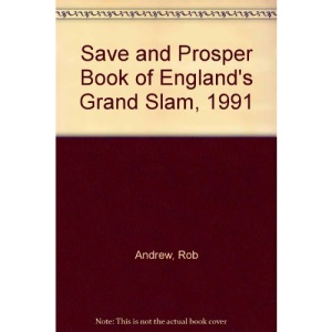 Save and Prosper Book of England's Grand Slam, 1991