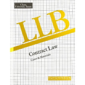 LLB Contract Law: Case Book