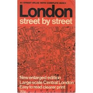 London Street by Street Atlas: 1m-3