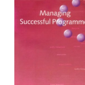 Managing Successful Programmes: Part 16