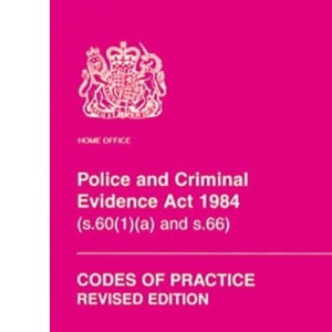 Police and Criminal Evidence Act 1984 (s. 60 (1) (a) and s. 66): codes of practice, Code of practice A (effective 1 March 1999), Codes of practice B-E (effective 10 April 1995)