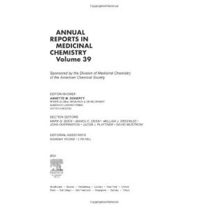 Annual Reports in Medicinal Chemistry: No.39